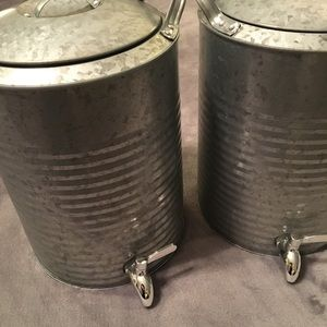 BHG Galvanized Drink Dispensers